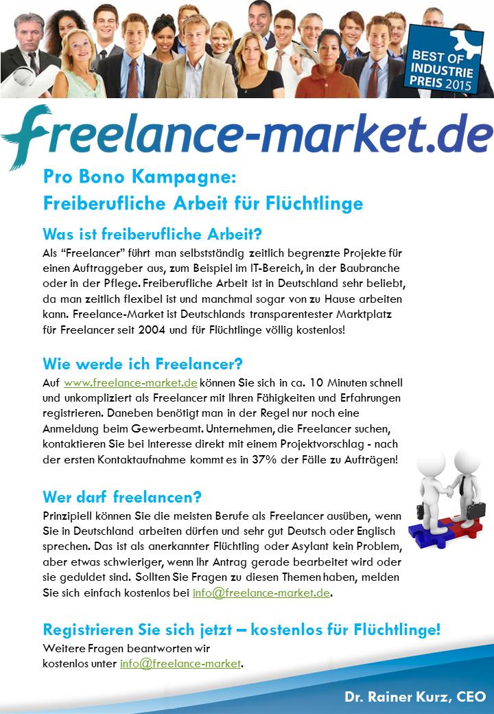 Job-Börse für Flüchtlinge: Studentische Unternehmensberatung ...